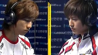 이제동 vs 김택용 모두를 전율시킨 에이스 대박 매치 ( Jaedong vs BIsu )
