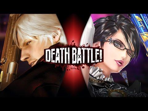Dante VS Bayonetta | DEATH BATTLE!