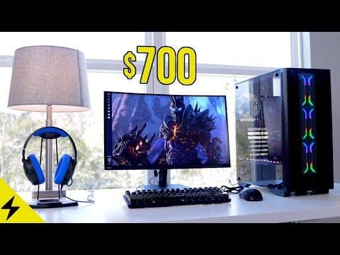 My $700 Gaming Setup for Budget PC Gamers! - Mouse, Keyboard, Headset, Monitor, etc.