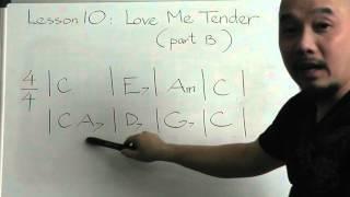 Đệm guitar căn bản 10(Love me tender, part 2)