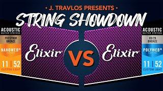 String Showdown: Elixir Nanoweb Phosphor Bronze vs Elixir 80/20 Polyweb Acoustic Guitar Strings