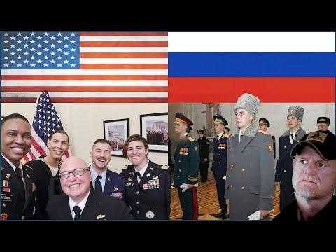 Russia vs USA - Propaganda & Patriotism not in that Order. (Marine Reacts)