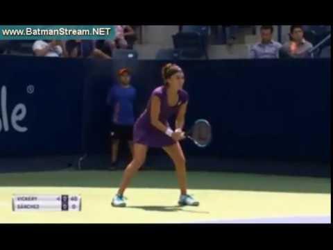 Vickery - Sanchez WTA Monterrey live stream youtube
