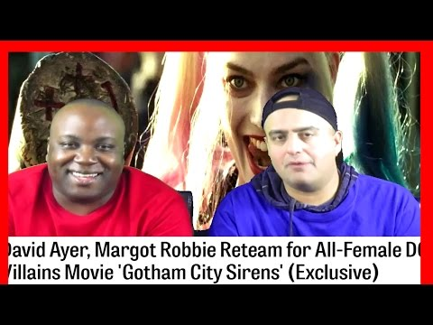 Gotham City Sirens Movie Confirmed! I Harley Quinn I  David Ayer Directing!