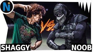 Ultra Instinct Shaggy VS Noob Saibot   Mortal Kombat 11 - Salsicha x Noob