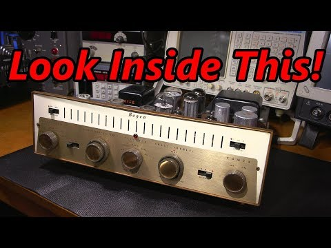 Look Inside This Tube Amplifier!