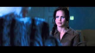 Catching Fire-snow Visits Katniss Scene