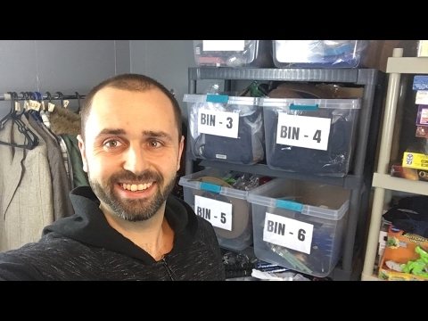 How To Create A Bin System To Organize Small Items On Ebay