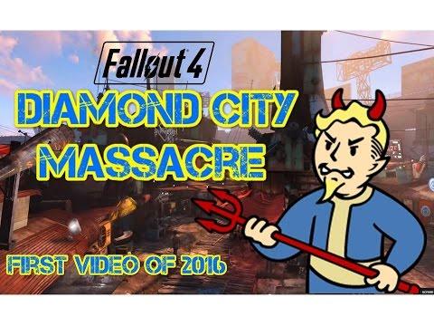 Fallout 4 - Diamond City Massacre | Shotty