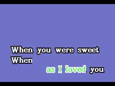 DK077 14   Como, Perry   When You Were Sweet Sixteen [karaoke]