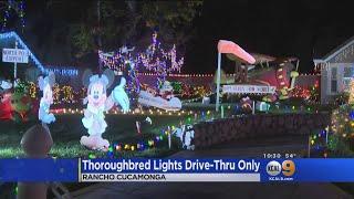 Famed Christmas Lights Walk Becomes Drive-Thru Only