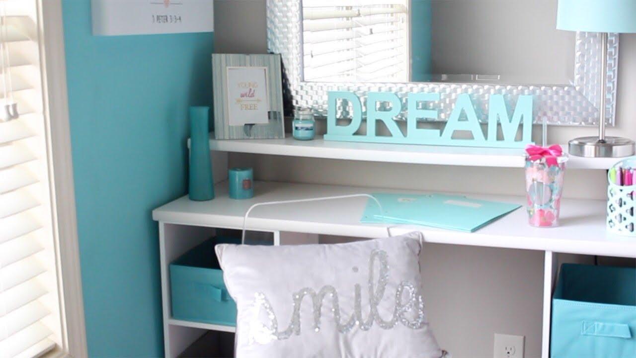 DIY Desk/Vanity: Teen Room Makeover - Phase 2