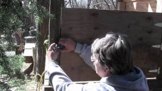 The Backyard Professor Builds A Chicken Coop Fun & Easy!!!!