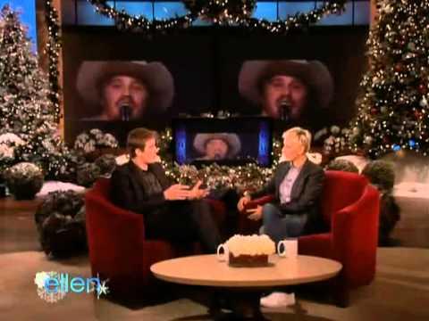 Garrett Hedlund on Ellen DeGeneres 2010.12.17