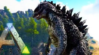 Ark Survival Evolved - GODZILLA EARLY ACCESS, NEW DRAGONS, NEW BATTLE ARENA - (Ark Modded Gameplay)