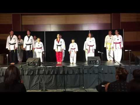 Nevada Taekwondo Night of All Nations Demo 2016