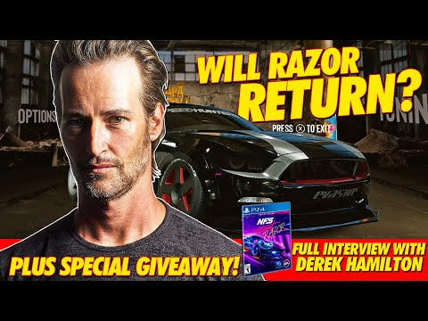 INTERVIEW WITH THE REAL RAZOR ( NEED FOR SPEED HEAT GIVEAWAY! )