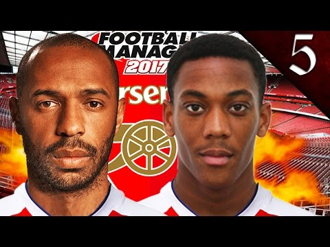 THE NEXT THIERRY HENRY! FOOTBALL MANAGER 2017: ARSENAL EP. 5