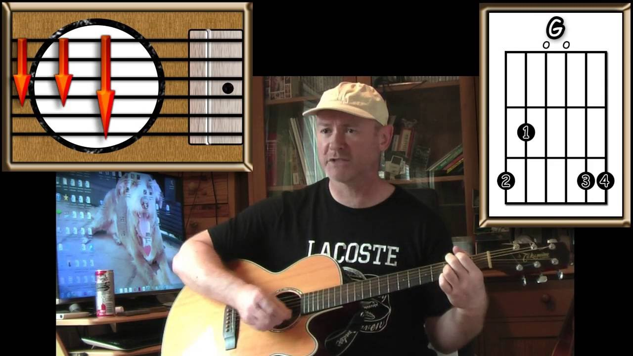 I wont back down tom petty acoustic guitar lesson easy i wont back down tom petty acoustic guitar lesson easy youtube hexwebz Image collections