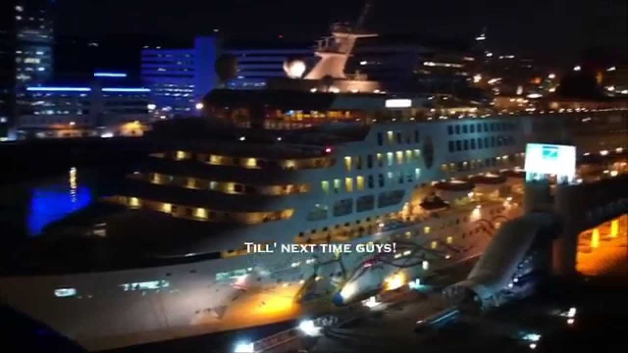 Superstar Gemini At Singapore Cruise Centre Youtube