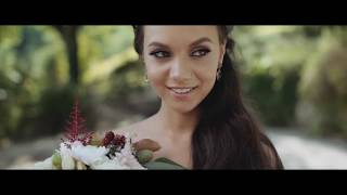 Свадебное платья и халат))))