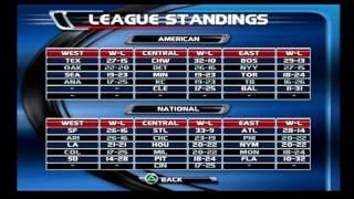 MLB Slugfest 2003 - Season Mode (Games 16-52 Simulation)