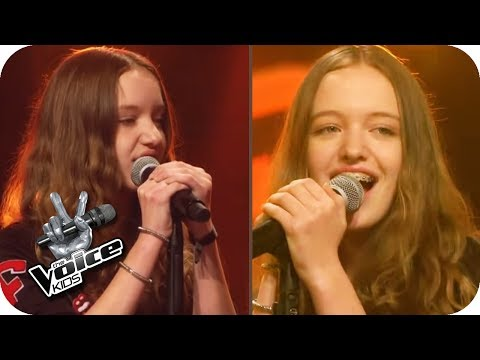 KLIMA - Schwesterherz (Jaqueline & Jeanette) | The Voice Kids 2017 | Blind Auditions | SAT.1