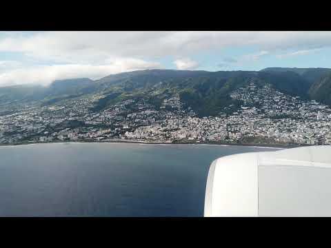 Atterrissage Saint Denis Ile De La Réunion 02-03-2019 Air France
