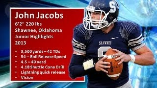 John Jacobs QB Shawnee, Oklahoma - Junior Highlights 2013