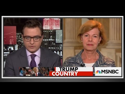 MSNBC - Senator Baldwin on All in with Chris Hayes about Closing Carried Interest Tax Loophole