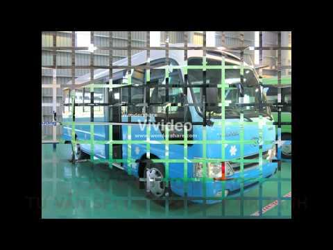 Thaco - Trường Hải bán xe khách Hyundai. Xe giường nằm Thaco Mobihome