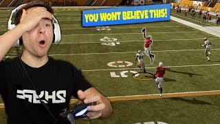 IM STILL IN SHOCK THAT THIS HAPPENED!! MADDEN 19 ULTIMATE TEAM #3