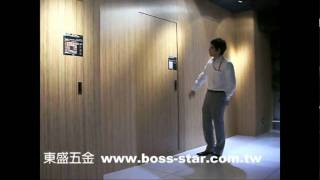 東盛五金 內推式門片 www.boss-star.com.tw