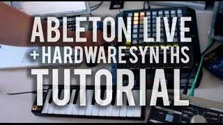 How I jam 1/3: Synthesizers with Ableton Live #TTNM