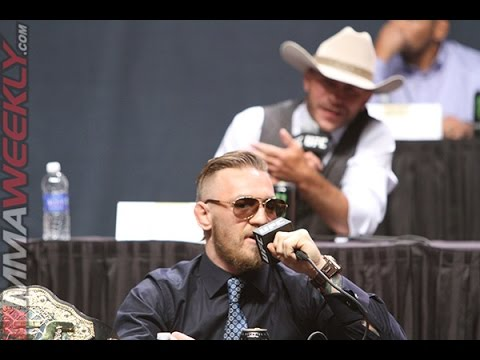 Conor McGregor Against Cerrone And Dos Anjos