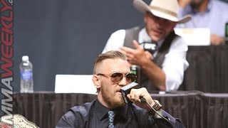 """Download Conor McGregor blasts Cowboy Cerrone and RDA for """"Stuck in the mud division"""" Mp3 and Videos"""