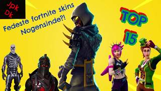 Top 15 Fortnite Skins! ( Fortnite Battle Royale )