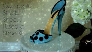 Gumpaste Stiletto High Heel Shoe
