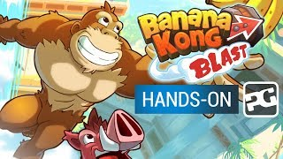 BANANA KONG BLAST | Hands-On