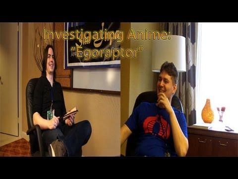 """Arin """"Egoraptor"""" Hanson Interview - Investigating Anime w/ Carey Martell"""