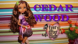 Ever After High Cedar Wood Doll Unboxing & Review