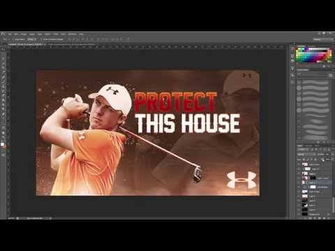 Jordan Spieth Under Armour Advertisement Speed Art