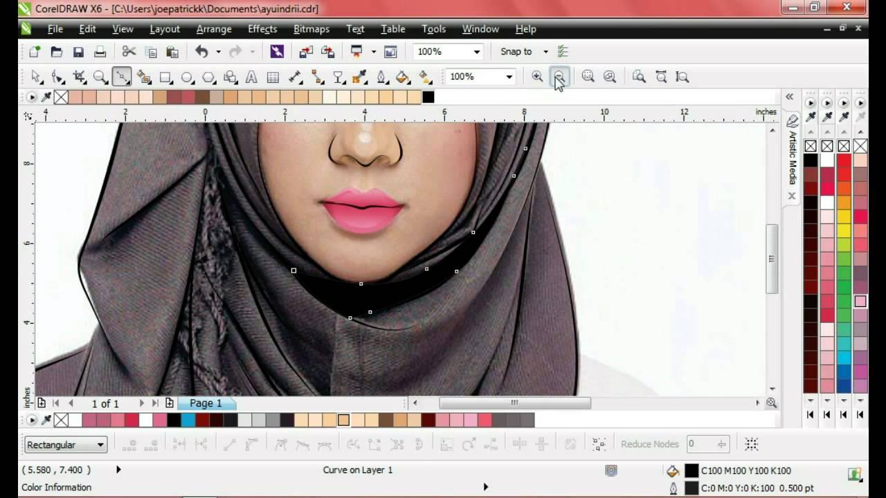Koleksi Cara Membuat Gambar Menjadi Sketsa Di Coreldraw