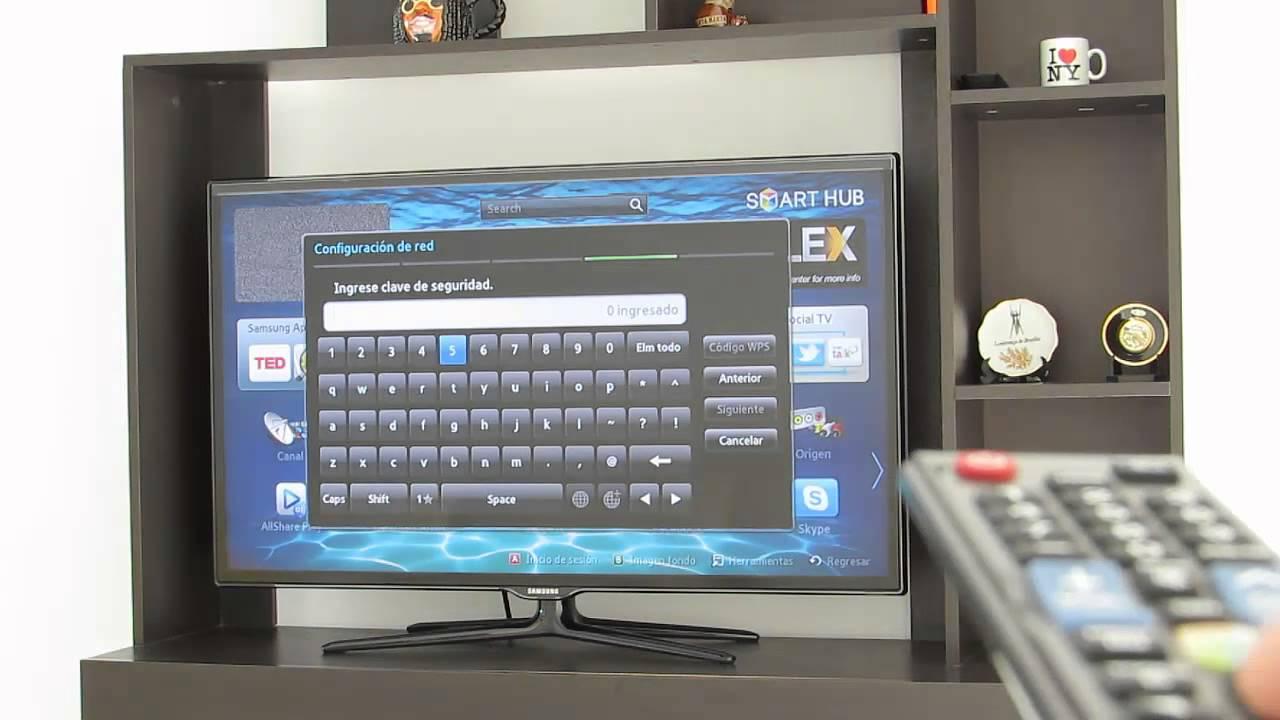Conectar Smart Tv A Internet Por Wifi Youtube