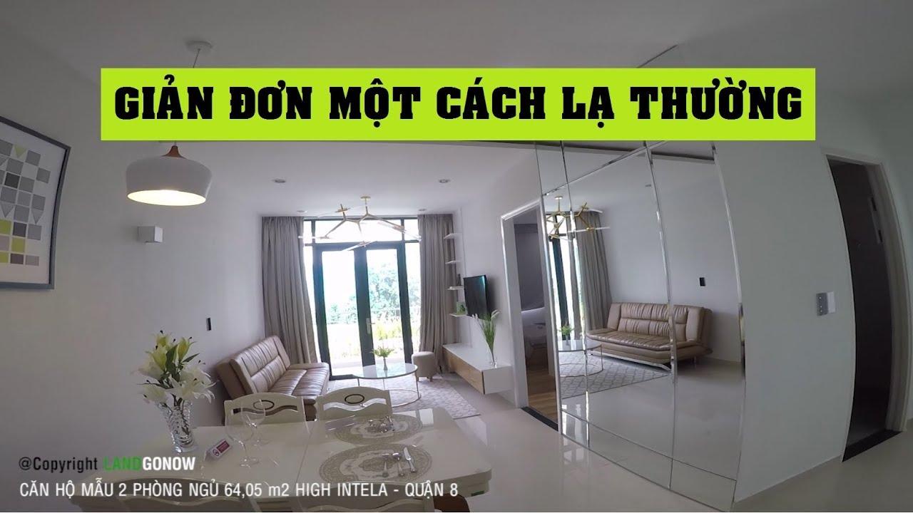 Căn hộ mẫu 2 phòng ngủ 64,5m2 High Intela, Võ Văn Kiệt, Quận 8 – Land Go Now ✔