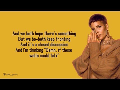 Halsey, Nico Collins - Walls Could Talk (Lyrics) 🎵