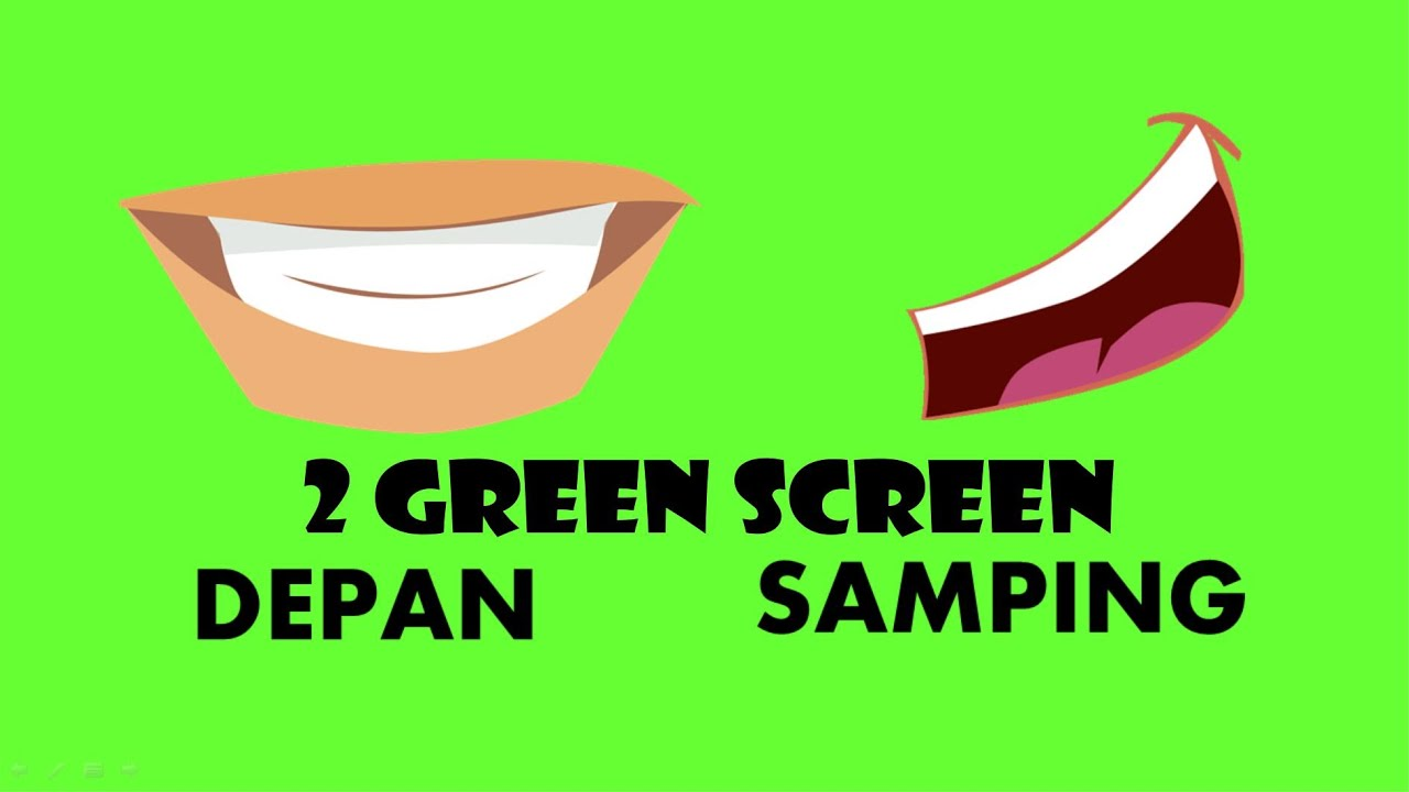 Green Screen Mulut Bicara Youtube