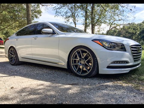 Low Luxurious 2015 Hyundai Genesis 5.0 Sedan Review