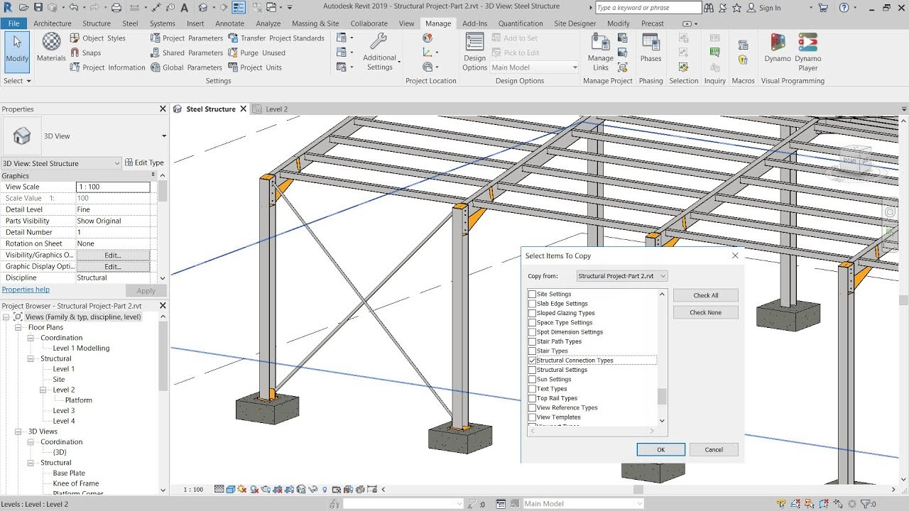 Reuse Steel Connections And Share Custom Joints Search Autodesk Knowledge Network