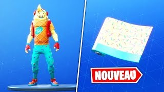 LIVE FORTNITE: NEW SKIN - P'TIT CORNET DISPONIBLE IN THE BOUTIQUE!!